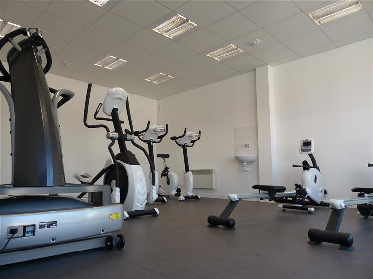 Fitness room Camping Les Amiaux